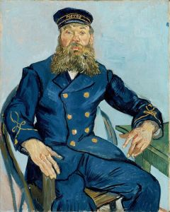 Portrait of the Postman, Joseph Roulin (1841-1903), MFA,Boston