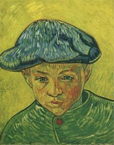 Portrait of Camille Roulin, 1888, Van Gogh Museum, Amsterdam.