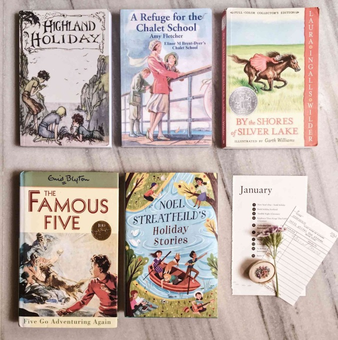 January Book Haul - Laura Ingalls Wilder- Enid Blyton